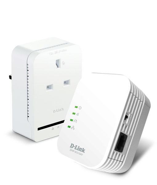 dhp wp311av n300 av500 wifi powerline extender with pass. Black Bedroom Furniture Sets. Home Design Ideas