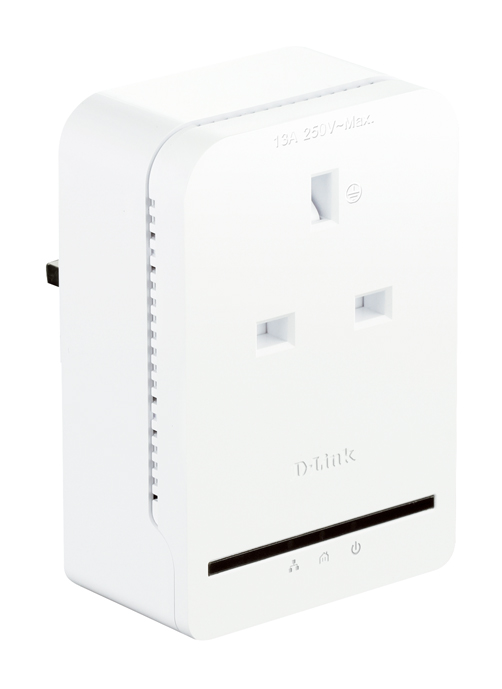 d-link dhp-p308av powerline av  passthrough adapter